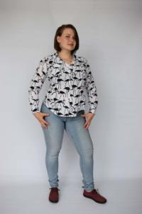 Flamingo Blouse