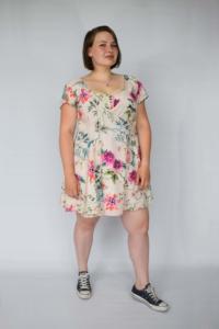 Bloemetjes jurk